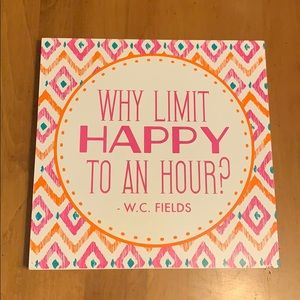 Other - Why Limit Happy To An Hour? - Pink Sign✨